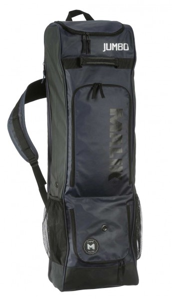 Malik Jumbo Stick Bag Navy-Black