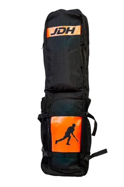 JDH Compact SCHLÄGERTASCHE black / orange