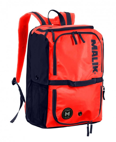 Malik Backpack Big Coral-Navy