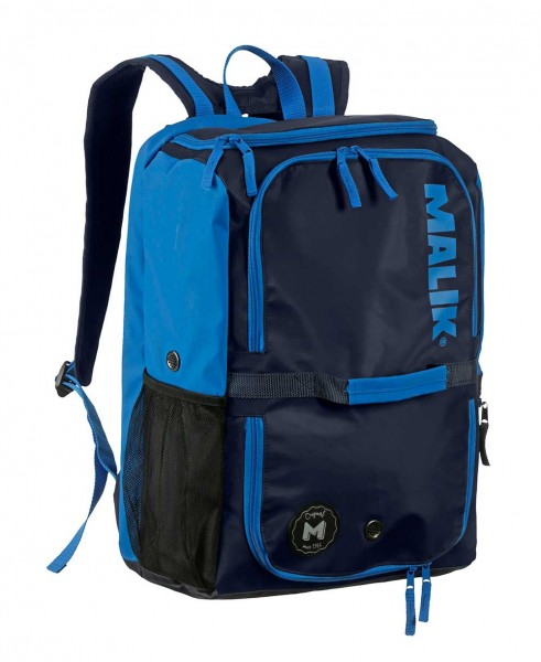 Malik Backpack Big Navy-Blue
